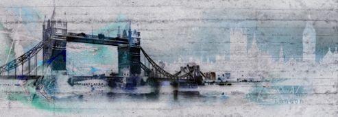 Komar London Wall Mural - 368 x 127 cm