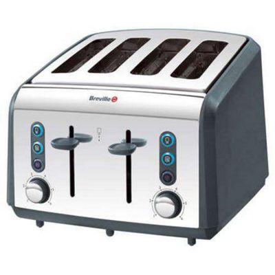 Breville VTT206 Polished S/S 4 Slice Toaster