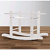 Kinder Valley Rocking Moses Basket Stand (White)