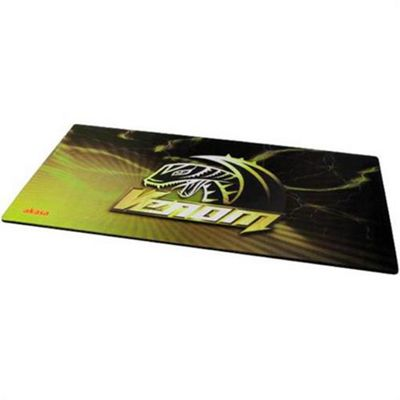 Akasa AK-MPD-01YL Black Yellow mouse pad Natural rubber 890 x 450 3mm