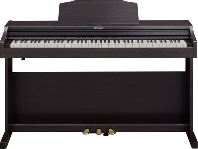 Roland RP501R-CR 88 Key Compact Family Electronic Piano With Bluetooth - Contemporary Rosewood