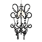 Beaded Ceiling Light Shade Chandelier in