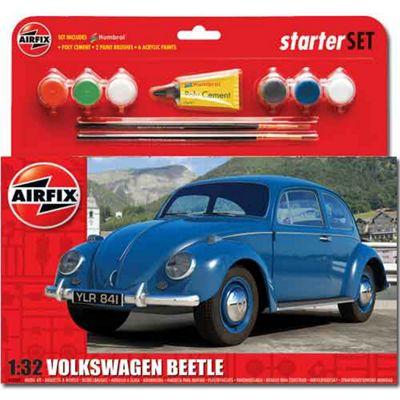Airfix A55207 Vw Beetle Starter Set 1:32 Car Model Kit