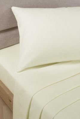 Polycotton Percale Continental Oxford Pillowcase 65x65cm - Ivory