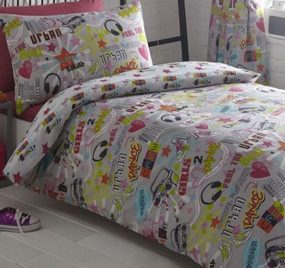 Dance Crew Single Bedding