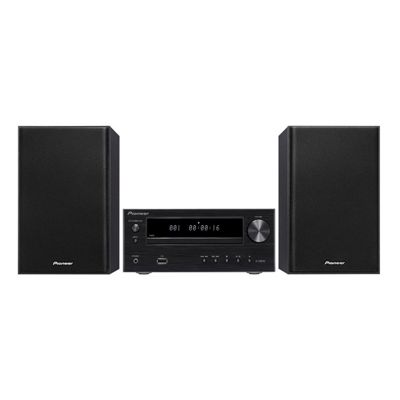 Pioneer XHM16B Micro Hi-Fi System with 30W Power and CD/FM/AM Tuner in Black
