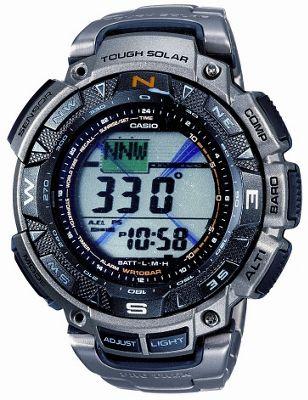 Casio PRG240T-7E Pro-Trek Solar Powered Watch