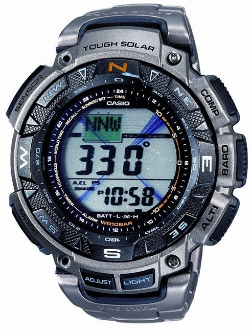 Casio PRG240T-7E Pro-Trek Solar Powered Watch