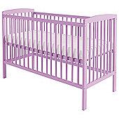 Kinder Valley Sydney Cot Pink Lavender