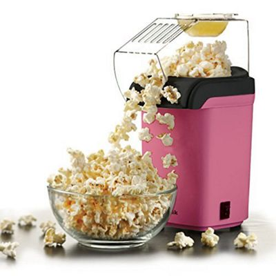 Sentik 1200W Pink Electric Popcorn Maker Machine Fat Free Pop Corn Popper