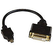 StarTech Micro HDMI to DVI-D adapter M/F - 8in video cable