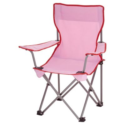 Tesco Kids Folding Chair   Pink