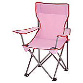 Tesco Kids Folding Chair - Pink