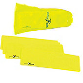 Precision Yellow Rectangular Markers ( Set of 10 )