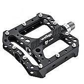 Wellgo B143 CNC Platform Sealed Pedal in Black