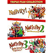 NATIVITY 1,2 & 3 DVD 3disc