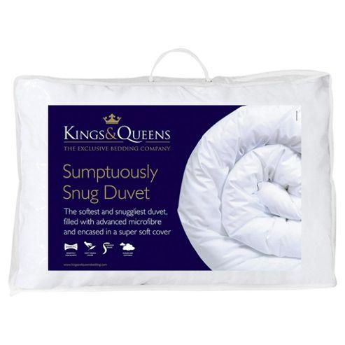 Kings & Queens Sumptuously Snug 10.5 Tog Super King Duvet