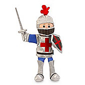 Fiesta Crafts 33cm St George Knight Hand Puppet