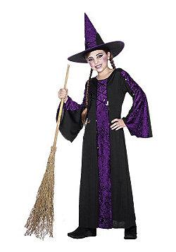 Child Bewitched Witch Costume Purple Medium