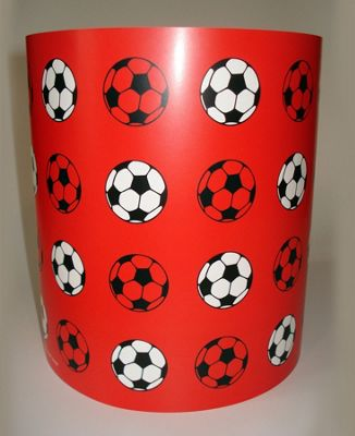Buy football light shade red from our lamp shades range tesco football light shade red aloadofball Images