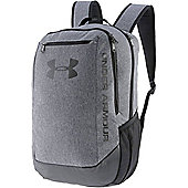 Under Armour Hustle Light Backpack Rucksack Sports Bag Grey/Black