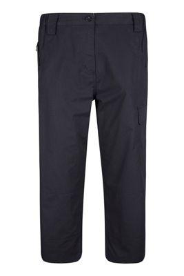 Mountain Warehouse Trek Womens Capri Trousers ( Size: 8 )