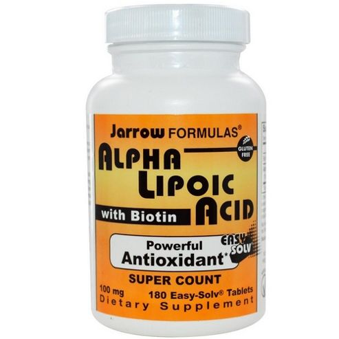 Jarrow Alpha Lipoic Acid 100mg 180 Tablets