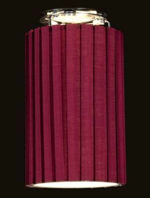 Stylish Snood Tall Hard Back Box Pleat Berry Lamp Shade