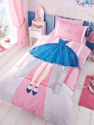 Princess Single Duvet Cover and Pillowcase Set