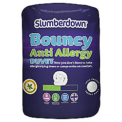 Slumberdown Bouncy Anti-Allergy 10.5 tog duvet single