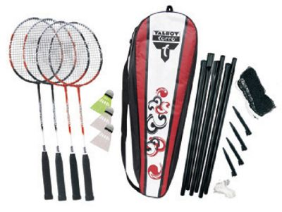 Attacker 4 player badminton set