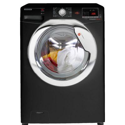 Hoover Washing Machine, DXOC68C3B, 8kg with 1600 rpm - Black