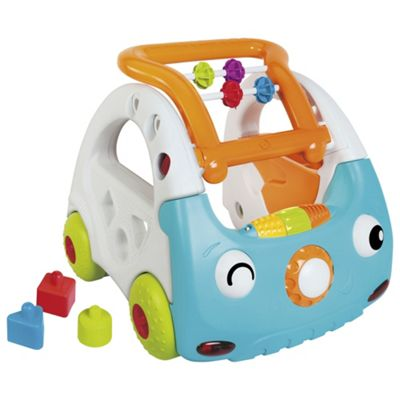 B Kids Sensory 4 In 1 Discovery Car & Walker