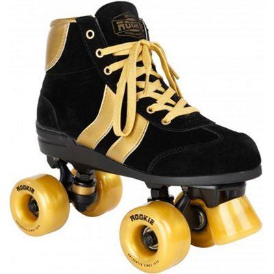 Rookie Authentic Quad Skates - Black/Gold - Size - UK 4
