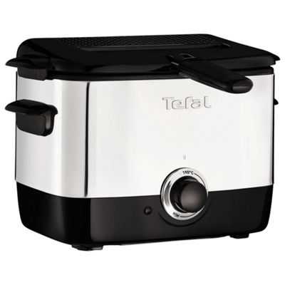 Tefal Mini Pro Fryer - Black & Silver