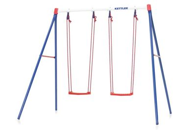 Kettler Double Swing - Children's Swings Ideal for Small Gardens