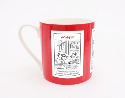 Matt (The Telegraph) Squiffy Middle Mug
