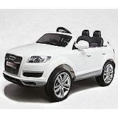 Audi Q7 4.2 TDI Quattro 12v Kids Electric Car - White