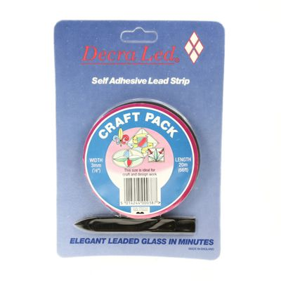Self Adhesive Lead Strip - 3mm