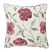 Julian Charles Carmen Red Luxury Jacquard Cushion Cover
