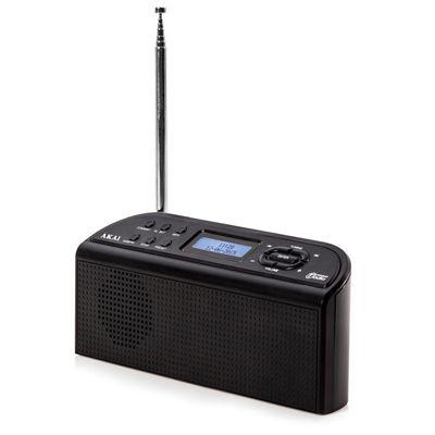 Akai DAB Digital Radio - Black