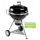 San Francisco Charcoal BBQ Kettle Grill compatible with Grid-in-Grid System