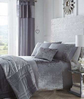 Boulevard Grey Duvet Cover Set - Super Kingsize