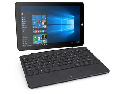 Linx 1020 10-Inch Tablet with Keyboard (Intel Atom, 2 GB RAM, 32 GB Storage, Windows 10)