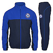 Chelsea FC Mens Tracksuit - Blue