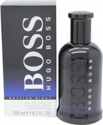 Hugo Boss Boss Bottled Night Eau de Toilette (EDT) 200ml Spray For Men