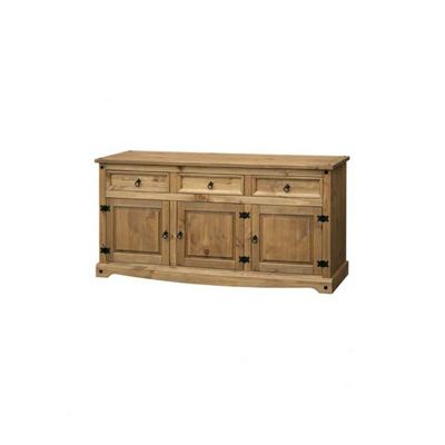 Home Essence Corona Large Sideboard in Solid Pine