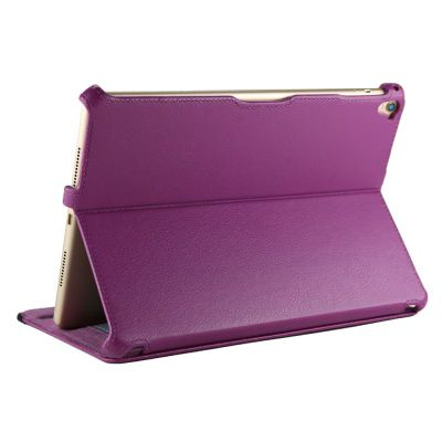 Purple Leather Multi Stand Case For The Apple iPad Pro 9.7