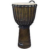 "World Rhythm 12"" Jammer Swirl Natural Djembe Drum"