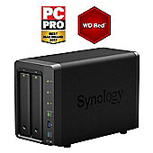 Synology DiskStation DS718+/4TB-RED 2-Bay 4TB(2x2TB WD RED) high performance NAS